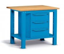 Radionički stol 103x75 cm, sa 3 ladice