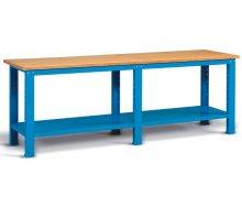 Radionički stol 250x75 cm, sa policom