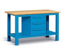 Radionički stol 150x75 cm, sa 3 ladice