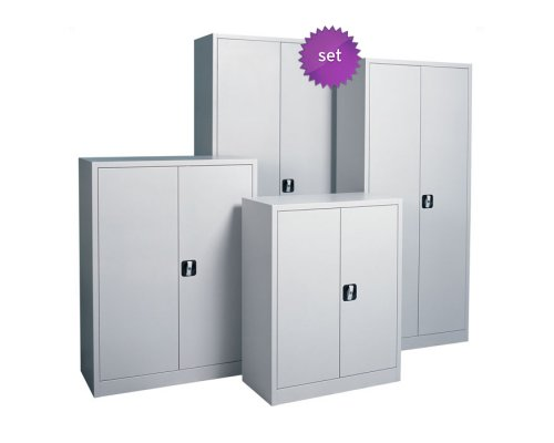 Set of Archive Cabinets AO MAT, 195x92x42 &180x80x38