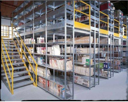 Double level Rack, model MAT - galvanized, loading capacity from 90-180kg