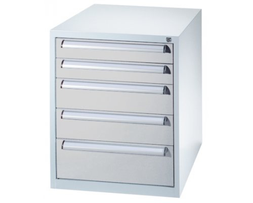 Toolbox with 5 drawers