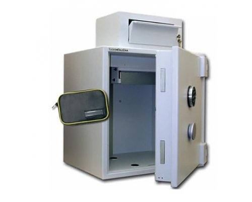 Safes with housing for insertion