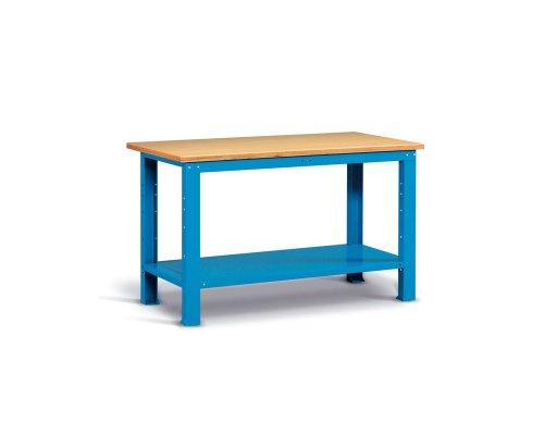 Workbench 150 cm with one shelf