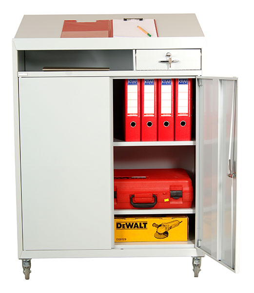 ... Tool Cabinet With Angled Top KP MAT 3